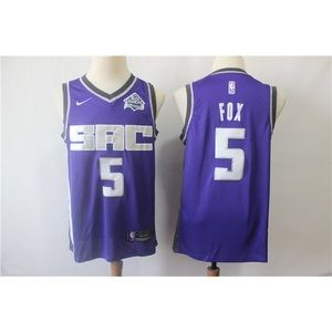 Sacramento Kings De'Aaron Fox Jersey